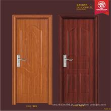 Preço de fábrica resistência ao fogo porta de madeira, porta de aço, design de porta compósito