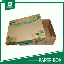 Ecofriendly Corrugated Vegetable Box