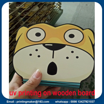 Direct UV Printing on Wooden Board Scratch Resistant