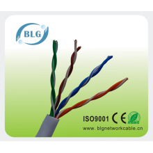 Bare copper cat5 lan network cable