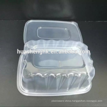 1000ml Rectangular Microwavable Disposable Plastic Food Container with lid