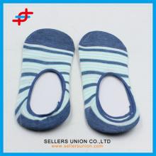 Pamuk Polyester görünmez taze ayak bileği çorap çizgili
