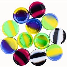 Recipientes para potes de cera de silicone de grau alimentício antiaderente