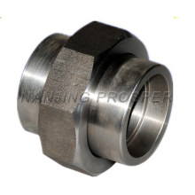 A105 Forged Carbon Steel Pipe Fittings Union Connector Factory