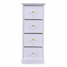 Wooden Bedside Cabinet Chest Table Storage End Table Bedroom Furniture