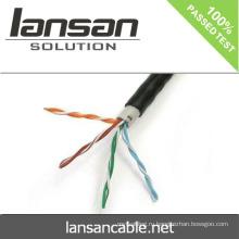 Utp cat5e кабель 4 пары, кабель utp cat5e водонепроницаемый utp cat5e наружный кабель