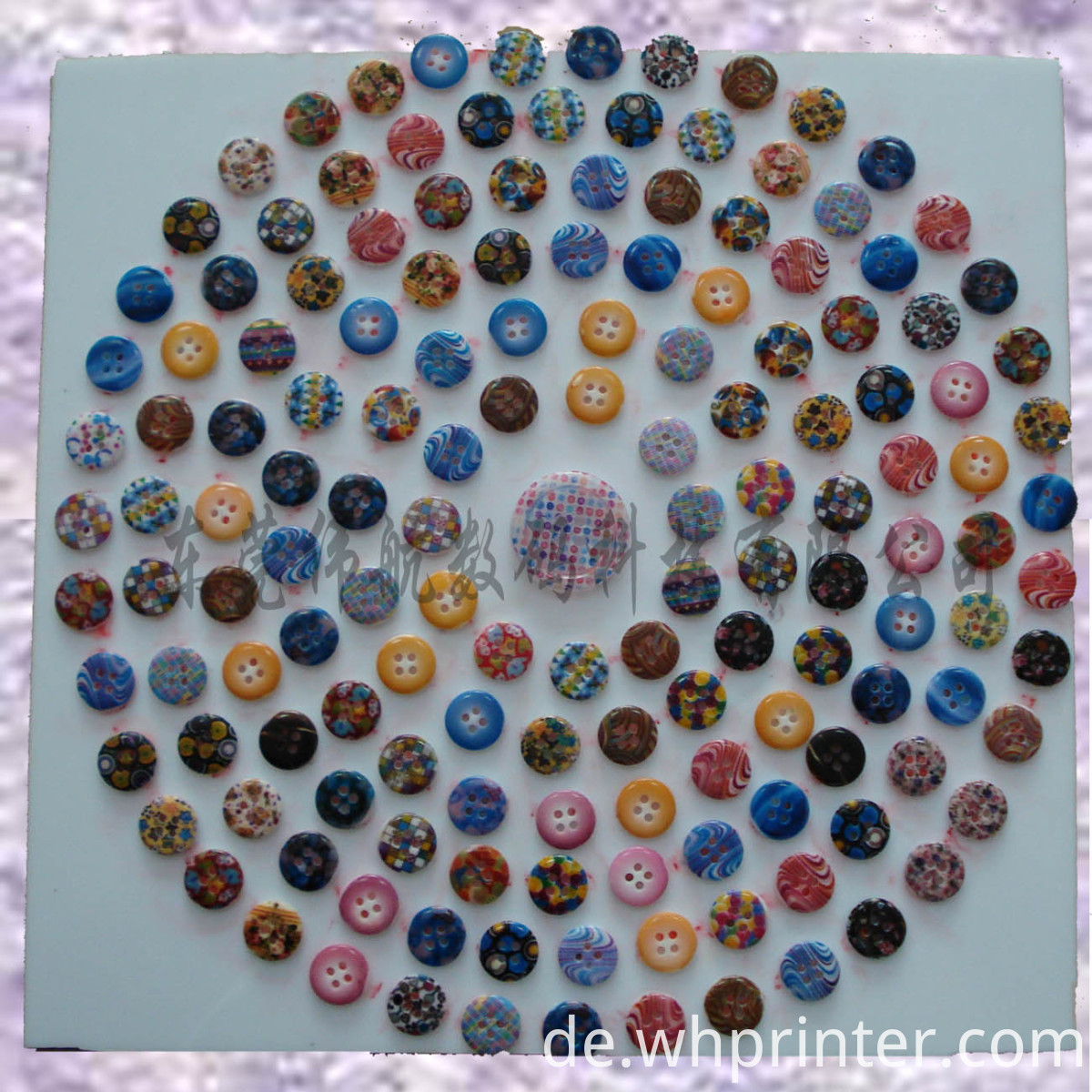 button sample