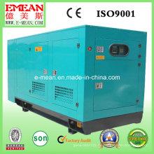 80kVA, stilles Wasser, Diesel-Stromaggregat
