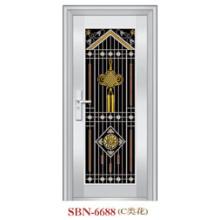 Puerta de acero inoxidable para exteriores (SBN-6688)