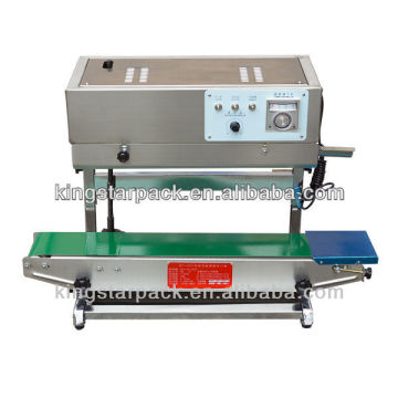 DBF-900L automatic film sealing machine food trays 8