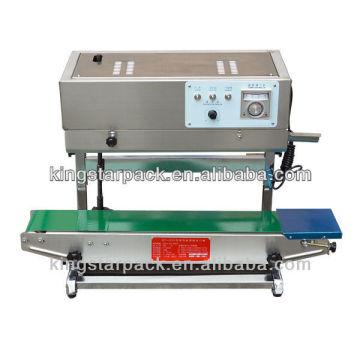 DBF-900L máquina automática de vedação de filme bandejas de alimentos