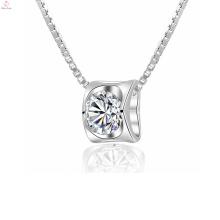 Vente chaude coeur 925 bijoux en argent sterling pendentif pour les femmes