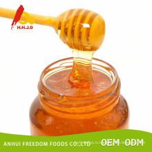 Сырой светло-и темно-Янтарный мед