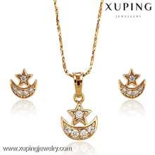 62928 New women's fashion 18k gold color jewelry set