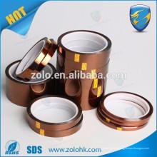 Ruban résistant à la chaleur à température élevée 280C Ruban en polyimide à usage industriel