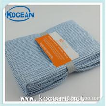 household cleaning bule microfiber towels