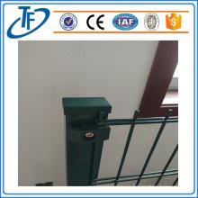 Venta de valla de malla de alambre bilateral de acero de bajo carbono
