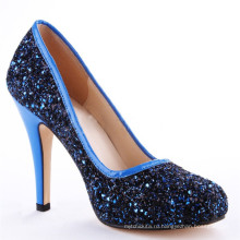 Беверли темно-синий женщины дамы высокий каблук обувь Испания
