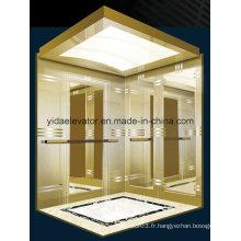 Ascenseur de passagers pour immeubles commerciaux; Centre commercial; Maisons (JQ-B027)