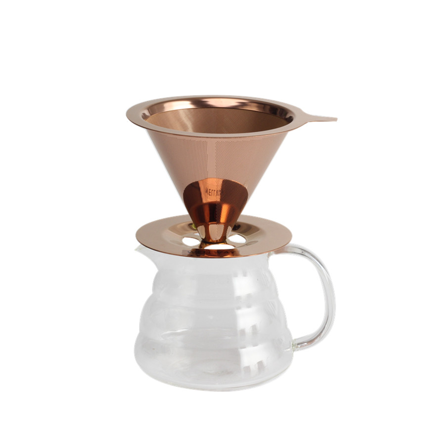Pour Over Glass Coffee Dripper