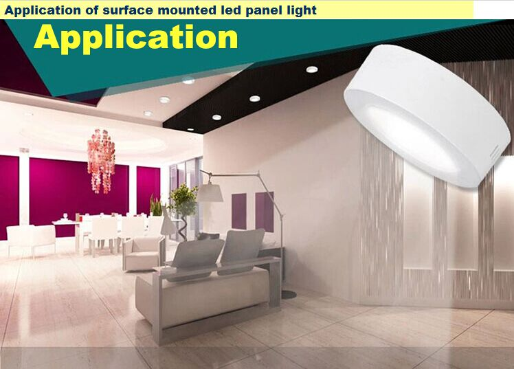 led surface mounted Square panel lights