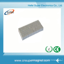 ISO9001 Certificated N48 Ni Coating Neodymium Block Magnet