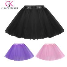 Классический Грейс Карин девочка 5 слоев мягкого Фатина сетки туту юбка 6мес~8лет CL010459