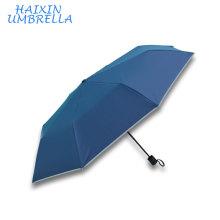 Fashion Rain Gear Light Reflection Glisten Blink Promotional Custom Logo Shinning Reflective Canada Umbrella Wholesale Rain