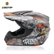Approuvé par le DOT Motocross Dirt Bike Casque de VTT Casque de course tout-terrain Casque principal ML XL Moto Casque Capacete Casco