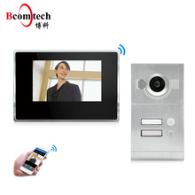 New arrived Waterproof wifi doorphone with monitor Motion Detection video doorphone system With Night Vision