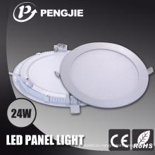 Iluminación interior 24W LED Panel luces