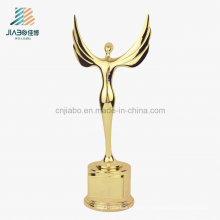 Cheap Promotional Gift Crafts Souvenir Gift Custom Metal Gold Oscar Award Trophy