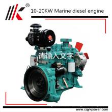 chinês cums, deutz, weichai motor de pequeno barco, motor diesel marítimo com caixa de velocidades