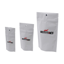 Different colors UV printing custom printed foil aluminated mylar zipper lock  bags with windows