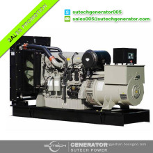 Soundproof silent 600kva diesel generator price with Parkins engine 2806C-E18TAG1A