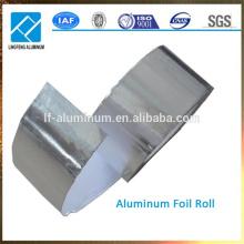 Rollo de papel aluminio de la cinta de aluminio