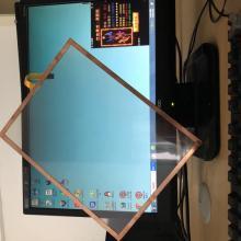 Medical Display 150Opi Metal Mesh Shielding Film