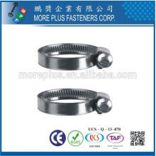 Made in Taiwan Carbon Steel Schlauchklemmen Heavy Torque European Style Hose Clamp