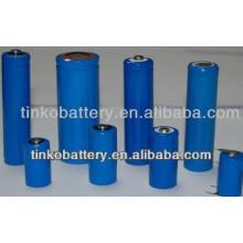 bateria do Li-íon 3.7 v 18650 feita pelo fabricante experiente