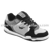 hot selling gray suede skate shoes for men