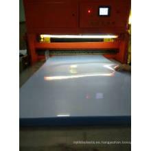 Hoja transparente de PVC esmerilado grueso para embalaje de cuello