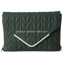 Fashion Quilted PU Leather Lady Clutch (ZXS0094)
