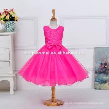Mädchen Party Wear Western Kleid Baby Mädchen Party Kleid Kinder Kittel Designs ein Stück Kinder Mädchen Kleid
