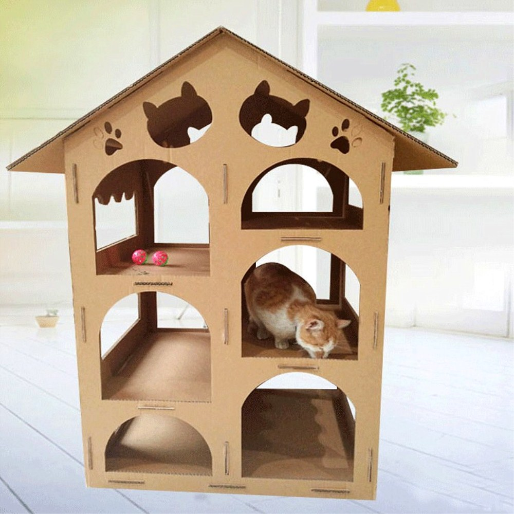 cardboard cat houses rabbits