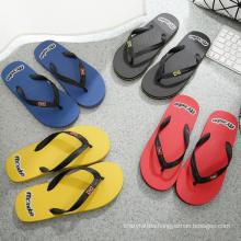 Men′s EVA Flip Flops Summer Sandals and Slippers Flip Flops Non-Slip Flat Heel Beach Shoes Manufacturers Wholesale