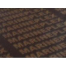 Contreplaqué filmé avec logo imprimé