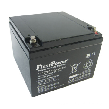 Reserv Deep Cycle Battery 12V28AH Järnvägssystem Batteri