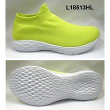 Chaussettes en tissu pour femmes Chaussures