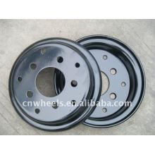 8 pulgadas 9 pulgadas pequeñas ruedas de acero para carretilla elevadora