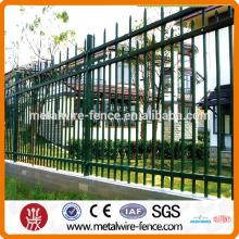 galvanized iron pipe fence